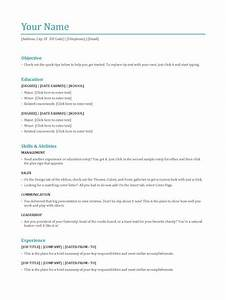 Most common resume format resume ideas for Common resume format