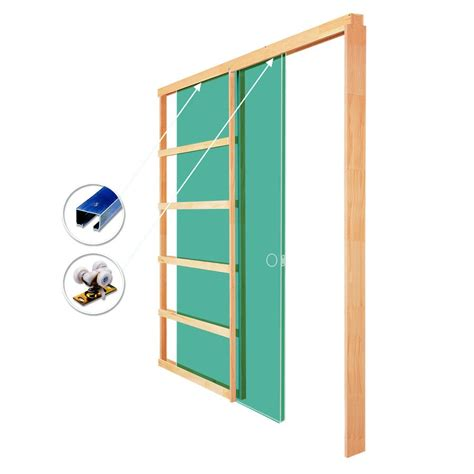 pocket door hardware lowes 1500 32na pocket door frame with hardware lowe s canada