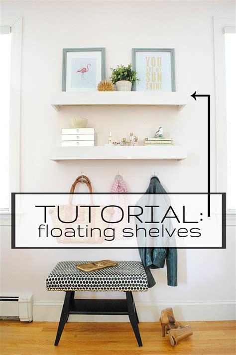 diy easy floating shelves  chronicles  home