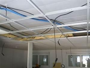 Dalle Plafond Polystyrene : dalles isolantes pour plafond polystyrene dossier m tier ~ Premium-room.com Idées de Décoration