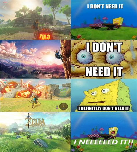 Breath Of The Wild Memes - 688 best images about link breath of the wild on pinterest legends news games and zelda