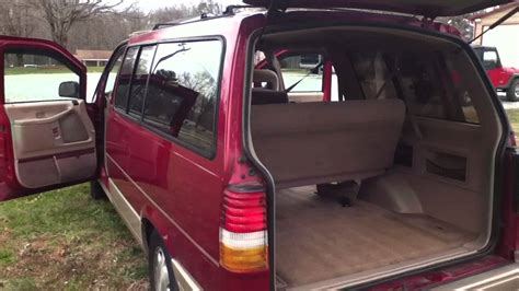 1996 FORD AEROSTAR 4.0L EXTENDED VAN - YouTube