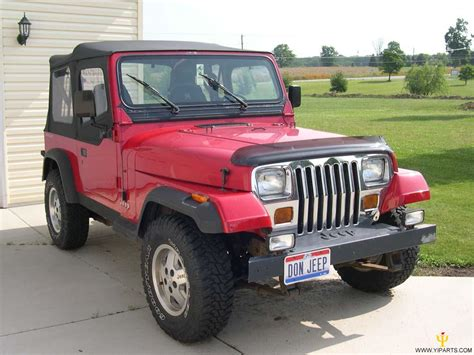 1986 Jeep Wrangler  Information And Photos Momentcar