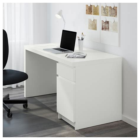 desks at ikea malm desk white 140x65 cm ikea