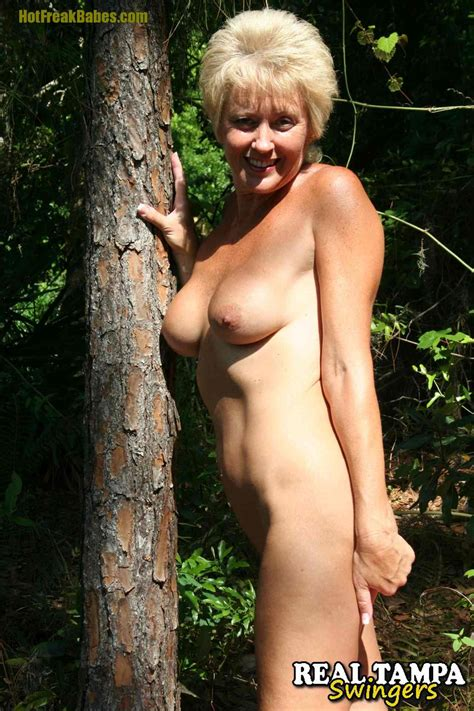 Hot Wife Tracy Gets Naked In The Woods Milfbabes From Thewanderer