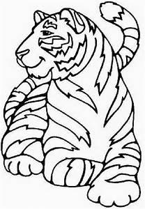 tiger coloring pages - tiger malvorlagen
