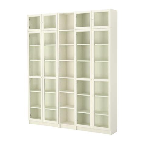 billy white bookcase billy oxberg bookcase white ikea