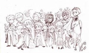 Harry Potter Crew - COMMISSION by Dedmerath on DeviantArt