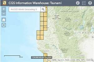 California Geological Survey Issues New Tsunami Maps For
