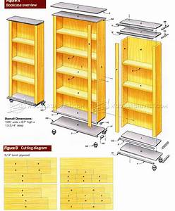 DIY Bookcase • WoodArchivist
