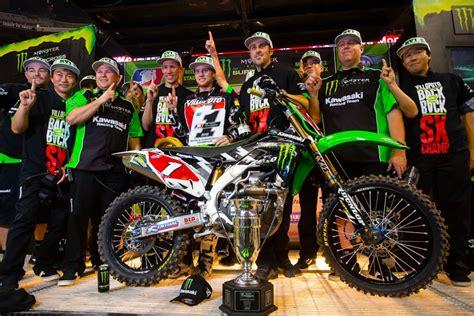 monster energy ama motocross villopoto clinches monster energy ama supercross an fim