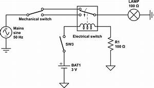 switches mechanically and electrically controlled mains With relay switch usb