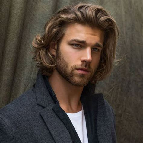 dignified long hairstyles  men