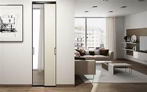 Porte Coulissante Miroir Sur Mesure : le miroir sur porte coulissante de placard ce qu 39 il faut ~ Premium-room.com Idées de Décoration