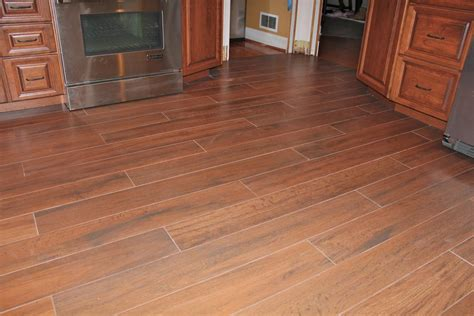 kitchen wood tile floor kitchen floors new jersey custom tile 6571
