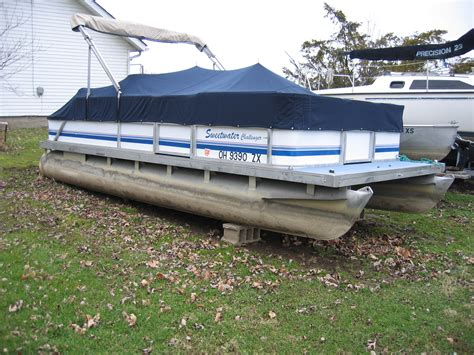 Sweetwater Pontoon Boat Covers by 1993 Sweetwater Pontoon 18 Pontoon Used Avidboater