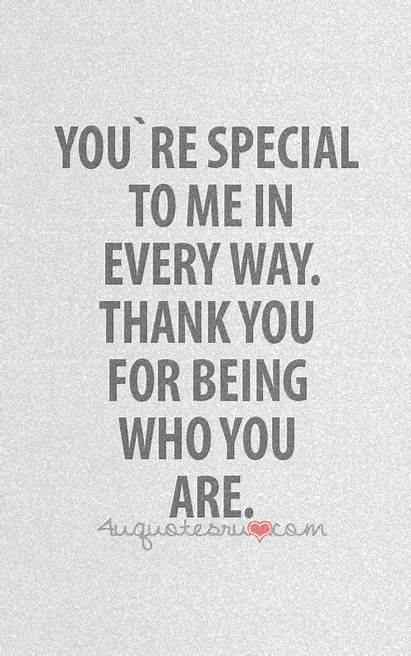 Quotes Special Thank Youre Friends Quote Re