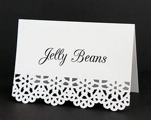 food labels food place cards white catering food signs With card labels printed