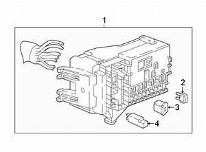 Chevrolet Cruze Junction Block  Instrument Panel  Motors