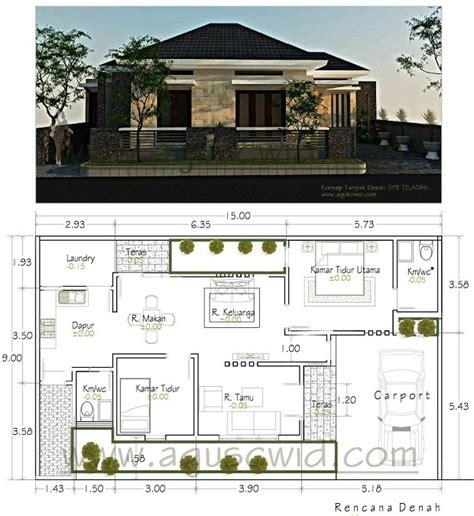gambar contoh desain rumah tropis minimalis rumah zee