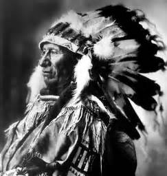 Native American Chief Black Bear