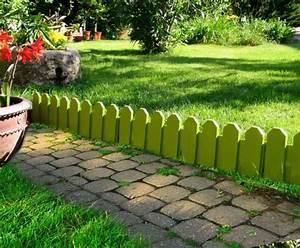 Bordure De Jardin Bois : bordures de jardin 20 id es originales ~ Premium-room.com Idées de Décoration