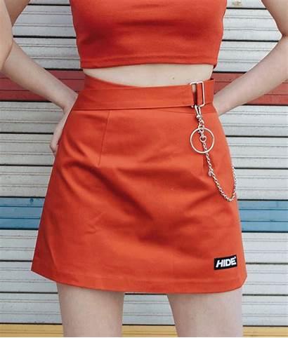 Skirt Mini Line Mixxmix Hide Quick Crop
