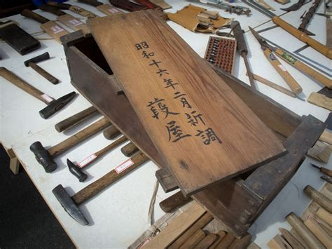 japanese tool chest measured drawings lost art press