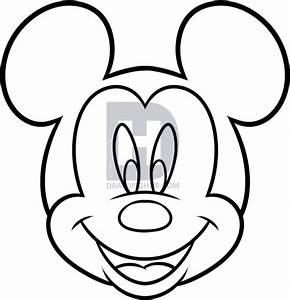 How To Draw Mickey Mouse For Kids Step By Step Drawing