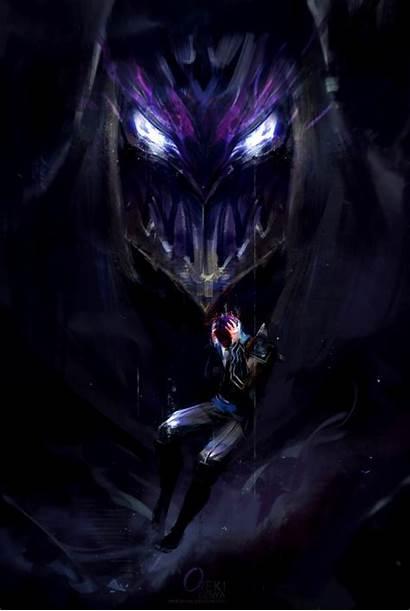 Zed Lol League Legends Wallpapers Slayer Galaxy