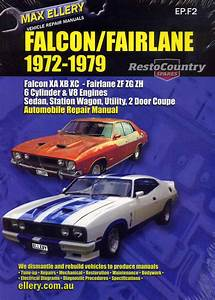 Ford Falcon Fairlane Xa Xb Xc Zf Zg Zh Factory Workshop