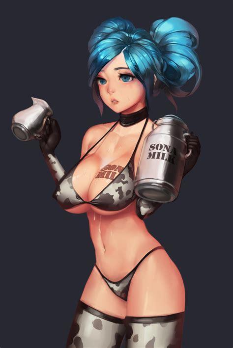sexy military sona league  legends fan art art  lol