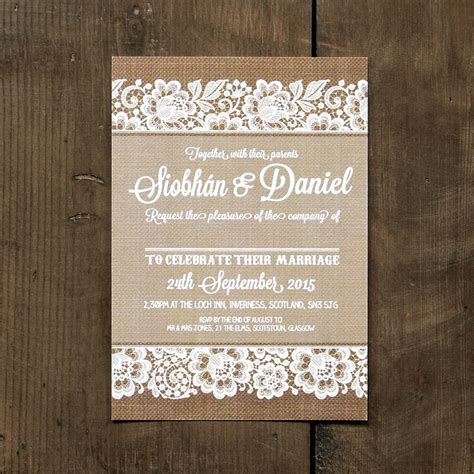 cheap shabby chic wedding invitations shabby chic lace wedding invitation feel good wedding invitations