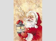 Santa's Light Fine Art Print by DBKArt Licensing at