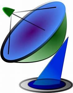 Clipart - Satellite Dish