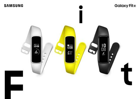 samsung galaxy active smartwatch galaxy fit fit e smartbands launched in india