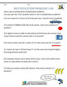 word problems 3rd grade multiplication word problem worksheets 3rd grade