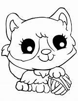 Coloring Cat sketch template