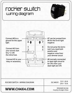 Kcd4 Rocker Switch Wiring Diagram