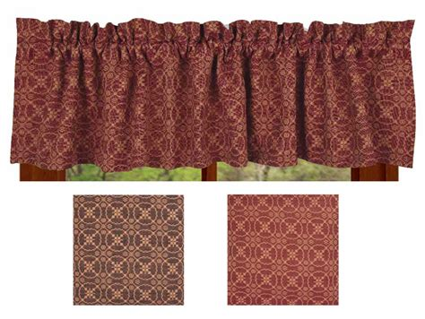 Marshfield Jacquard Barn Red Valance Best Blackout Curtains For Nursery Uk Target Grommet Bsmith With Style Duvet Covers And Double Curtain Rod Brackets Spotlight How To Make Separate Rooms White Lace Parts Of A Shower