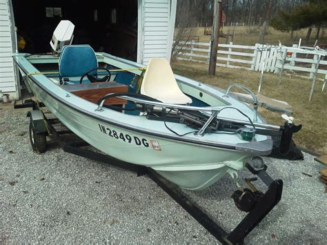 Aluminum Boat For Sale Indiana by 1980 Smoker Craft Aluminum Powerboat For Sale In Indiana