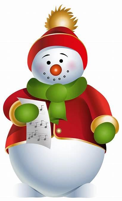 Snowman Transparent Clipart Clip Bonhomme Neige Fat