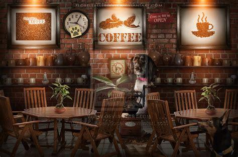 coffee shop  flobelebelebobele  deviantart