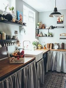Cuisine Ancienne Campagne : notre maison des ann es 30 la cuisine avant apr s et ses carreaux de ciment c line au d tour ~ Nature-et-papiers.com Idées de Décoration