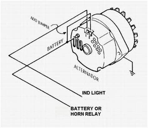 gm  wire alternator idiot light hook  hot rod forum