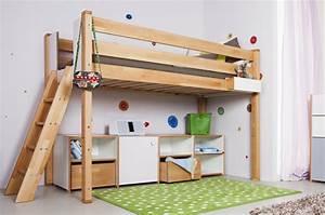 Hochbett Mit Zwei Betten : hochbett spielbett debreuyn ~ Whattoseeinmadrid.com Haus und Dekorationen