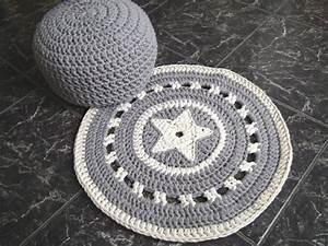 Decke Mit Sternen : decke mit stern crochet pinterest h keln teppich h keln und stricken ~ Markanthonyermac.com Haus und Dekorationen