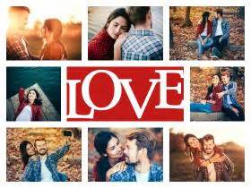 Amor foto collage es