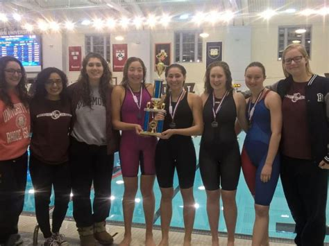 sports writers report east greenwich girls swimmers east