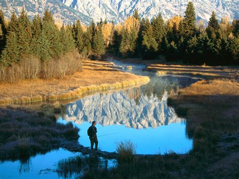 World Beautifull Places Grand Teton National Park Wyoming